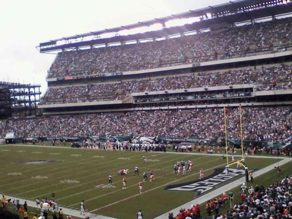 Lincoln Financial Field, section: SRO
