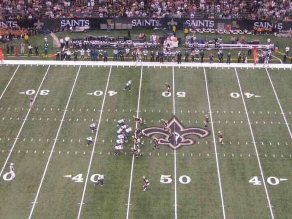Mercedes-Benz Superdome, section: 640, row: 22, seat: 12