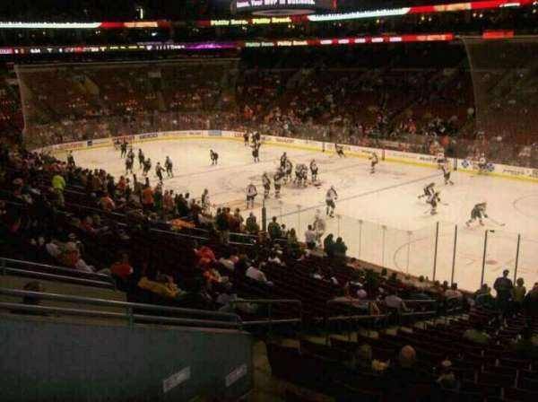 Wells Fargo Center, section: CB4, row: 1, seat: 5
