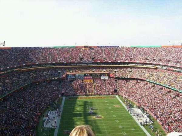 FedEx Field, section: 442, row: 29, seat: 11
