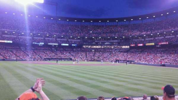 Oriole Park at Camden Yards, section: 86, row: 10, seat: 6