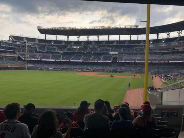 Truist Park, section: 144, row: 16, seat: 2