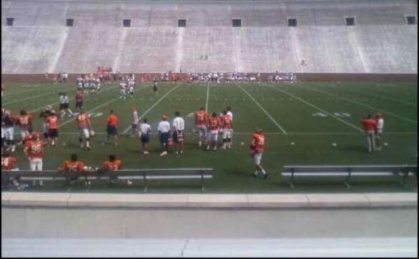 Memorial Stadium, Clemson, section: E, row: L, seat: 21,23,25,27
