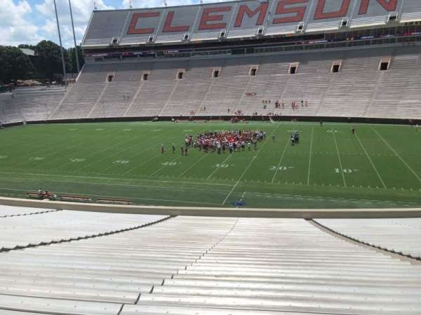Memorial Stadium, Clemson, section: R, row: SS, seat: 11,13,15,17,19,21