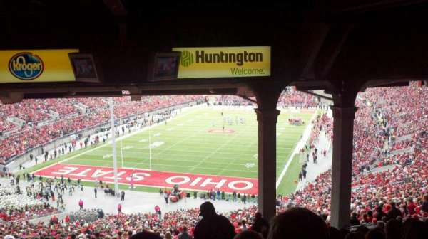 Ohio Stadium, section: 3B, row: 16, seat: 17