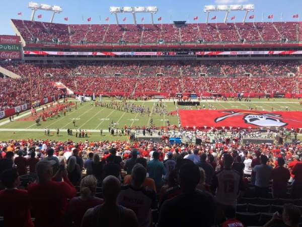 Raymond James Stadium, section: 235, row: DD, seat: 7