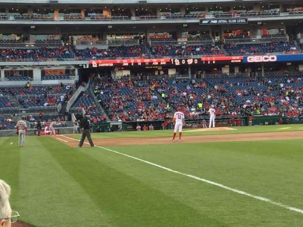 Nationals Park, section: 136, row: C, seat: 1/2
