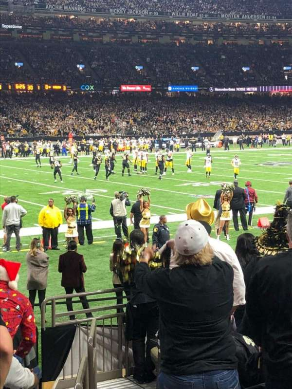 Mercedes-Benz Superdome, section: 149, row: 10, seat: 1