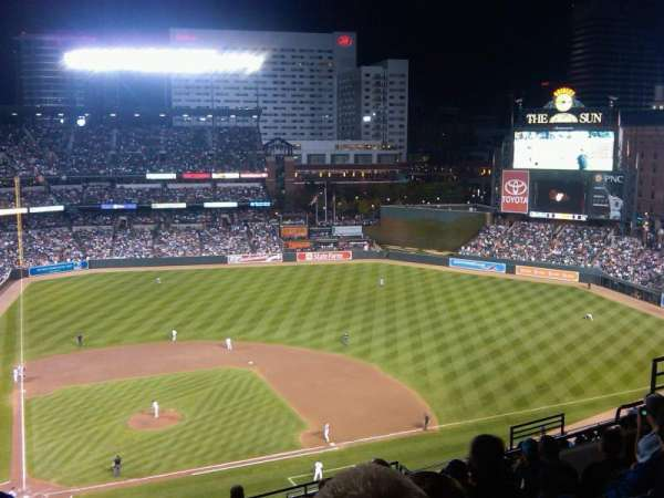 Oriole Park at Camden Yards, section: 326, row: 17, seat: 17