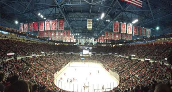 Joe Louis Arena, section: 201, row: 11, seat: 4