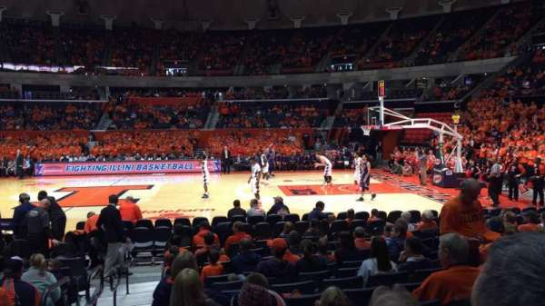 State Farm Center, section: 120, row: 9, seat: 18