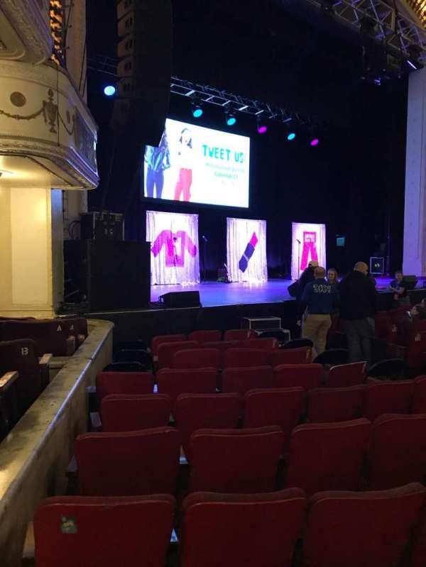 Orpheum Theatre (Boston), section: Orchestra Left, row: OO, seat: 13