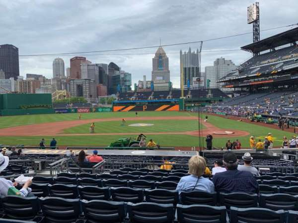 PNC Park, section: 120, row: J, seat: 10