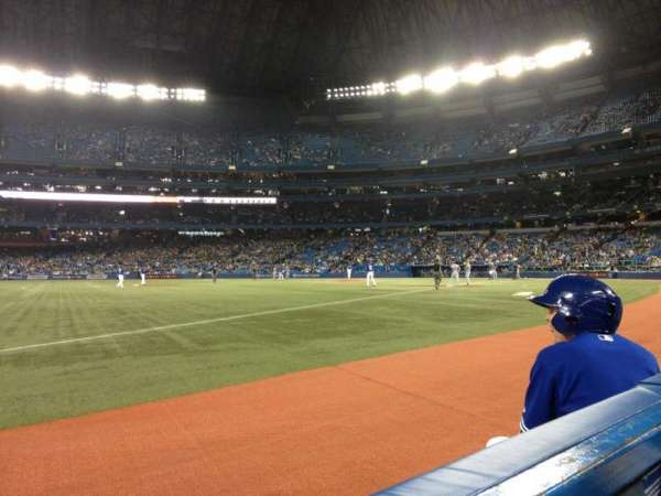 Rogers Centre, section: 130BL, row: 1, seat: 103