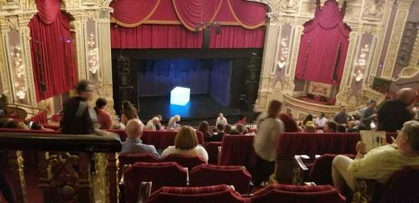 James M. Nederlander Theatre, section: Balcony L, row: R, seat: 355