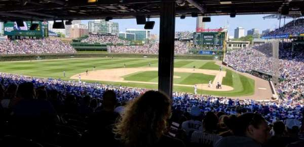 Wrigley Field, section: 214, row: 17, seat: 12