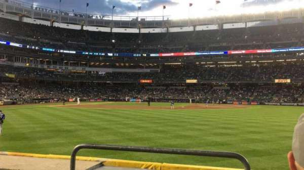 Yankee Stadium, section: 103, row: 3, seat: 24