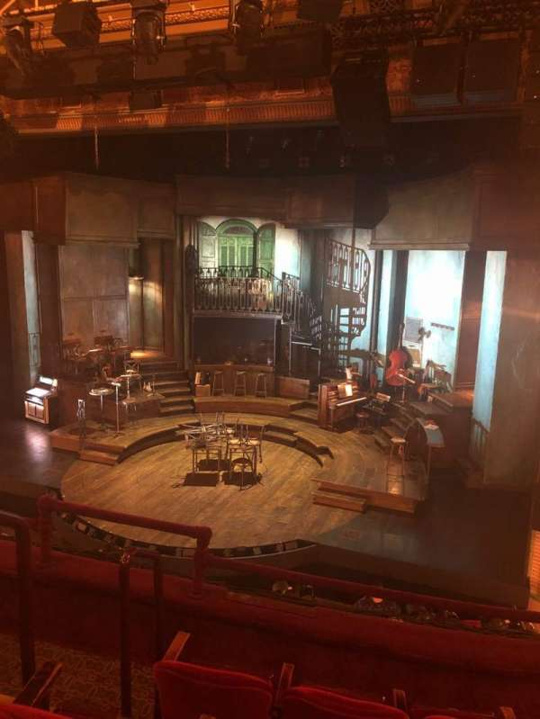 Walter Kerr Theatre, section: Mezz, row: D, seat: 6