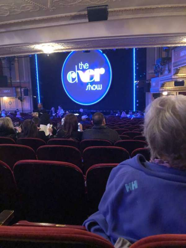 Neil Simon Theatre, section: Orchestra R, row: V, seat: 22
