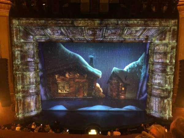 St. James Theatre, section: Mezzanine C, row: F, seat: 110