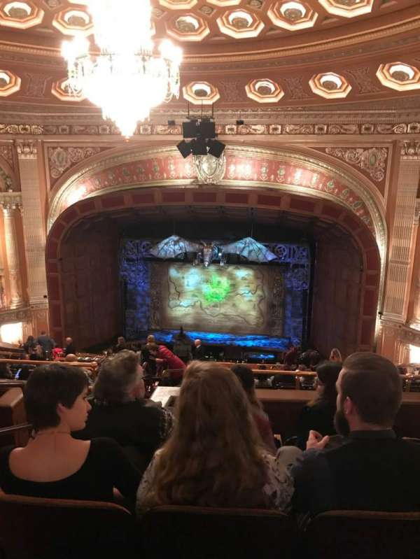 Benedum Center, section: Second Tier RC, row: Q, seat: 24