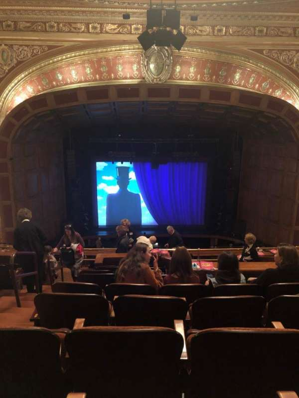 Benedum Center, section: 1st CTR, row: J, seat: 102