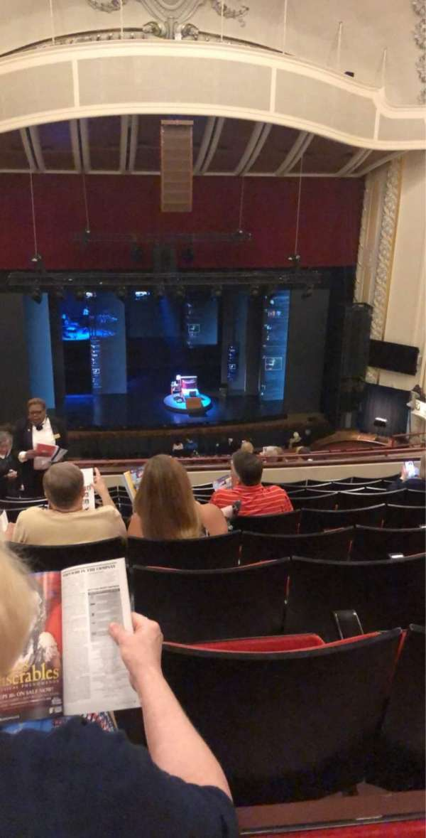 Heinz Hall, section: Family Circle C, row: K, seat: 102
