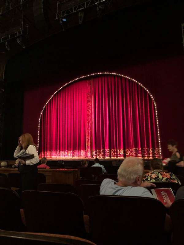 Benedum Center, section: Orchestra RC, row: F, seat: 28