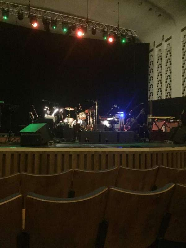 Liverpool Philharmonic Hall, row: E, seat: 26