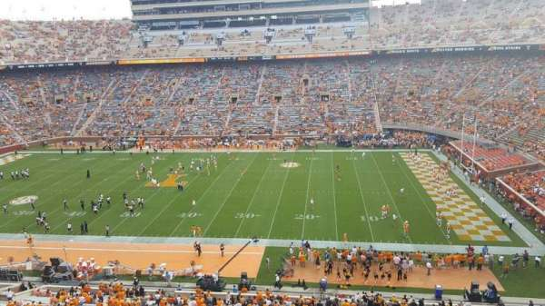 Neyland Stadium, section: AA, row: 1, seat: 32