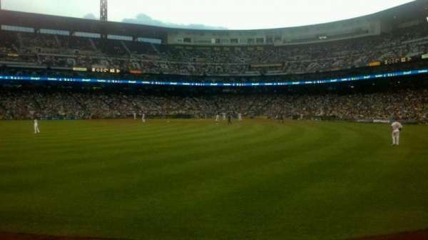 PNC Park, section: 138, row: A, seat: 11