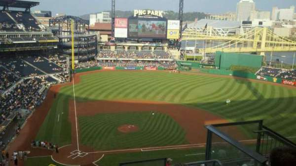 PNC Park, section: 313, row: l, seat: 6