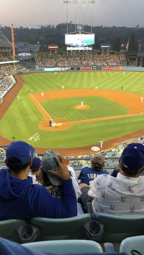 Dodger Stadium, section: 6RS, row: F, seat: 1