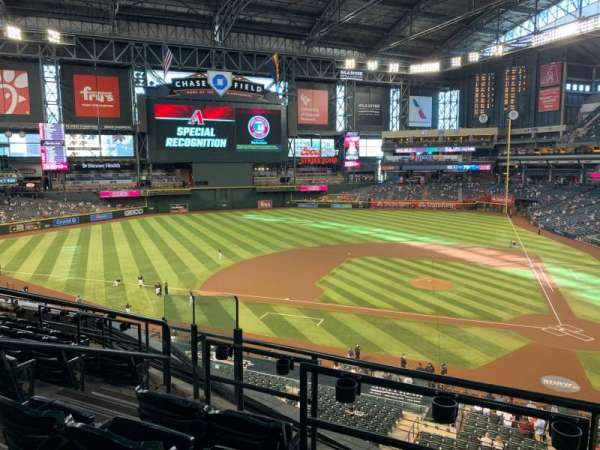 Chase Field, section: 211, row: 5, seat: 5
