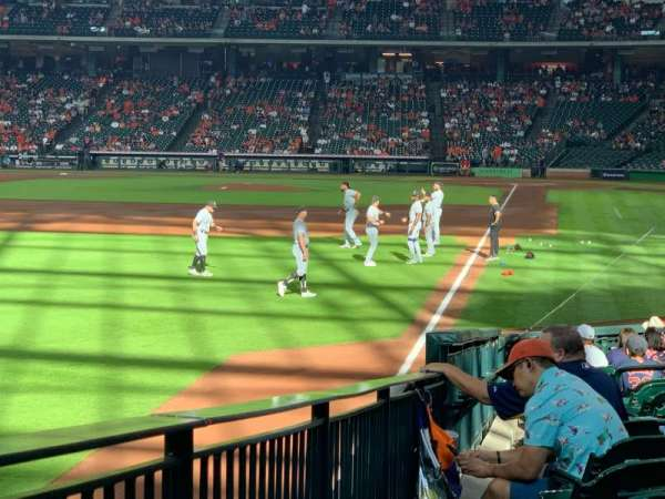 Minute Maid Park, section: 105, row: 19, seat: 1