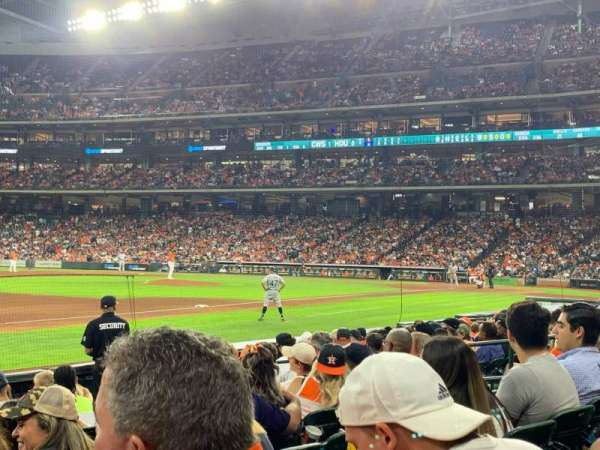 Minute Maid Park, section: 110, row: 10, seat: 8