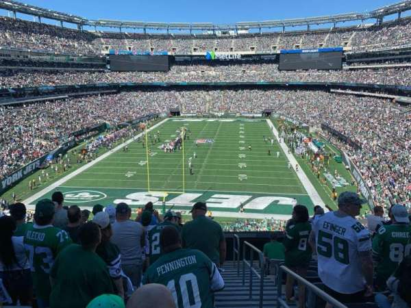 MetLife Stadium, section: 225a, row: 10, seat: 1