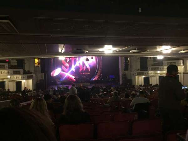 Orpheum Theatre (Boston), section: Orchestra LC, row: X, seat: 107
