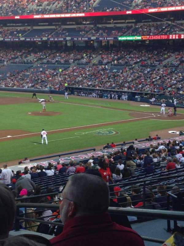 Turner Field, section: 220, row: 5, seat: 3
