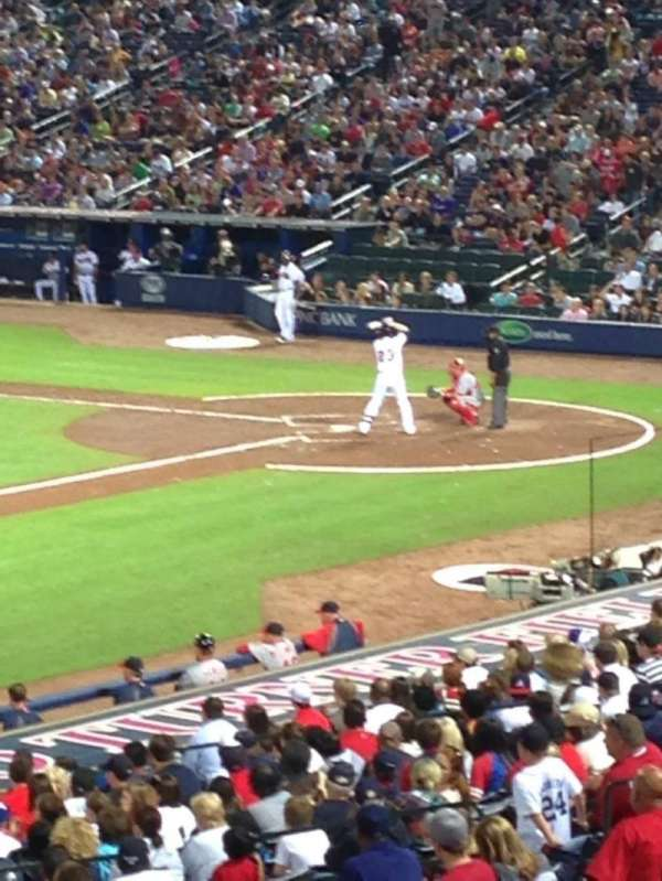 Turner Field, section: 220R, row: 5, seat: 3