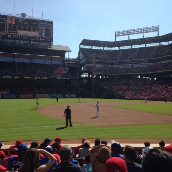 Globe Life Park in Arlington, section: 16, row: 10, seat: 11