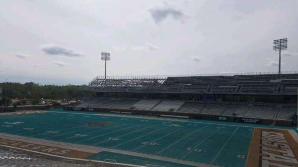 Brooks Stadium, section: 209, row: f, seat: 4