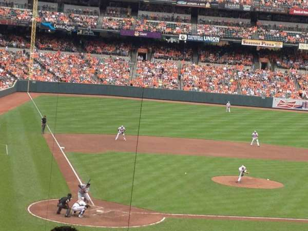 Oriole Park at Camden Yards, section: 29, row: 7 , seat: 8