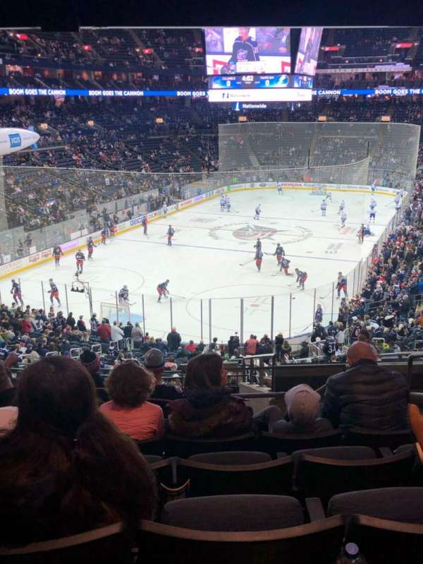 Nationwide Arena, section: 119, row: NN, seat: 5