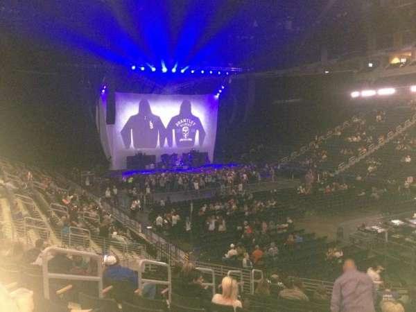 Infinite Energy Arena, section: 121, row: U, seat: 15