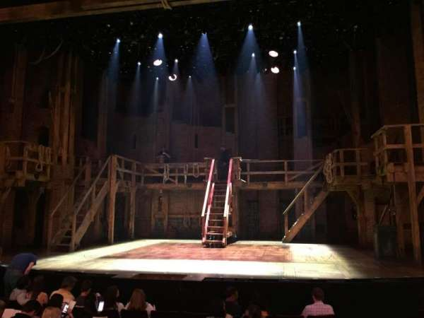 Richard Rodgers Theatre, section: orchestra c, row: j, seat: 101