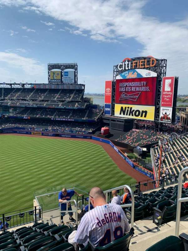 Citi Field, section: 502, row: 8, seat: 22