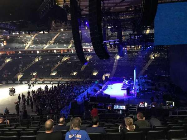 Madison Square Garden, section: 109, row: 20, seat: 19