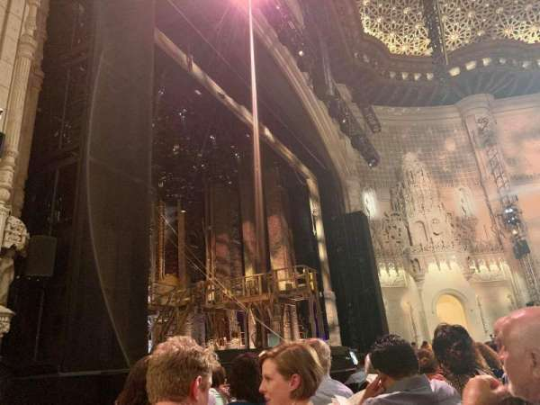 Orpheum Theatre (San Francisco), section: Orchestra L, row: G, seat: 17