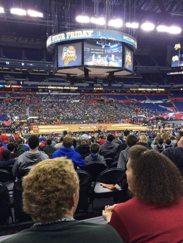 Lucas Oil Stadium, section: 114, row: 21, seat: 18